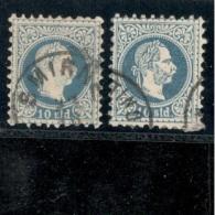 Austria1867:LevanteMichel 4 I ,4 II Used - 1850-1918 Empire
