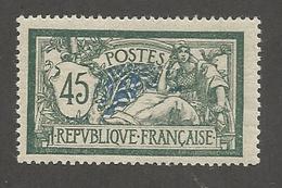 FRANCE - N°YT 143 NEUF** SANS CHARNIERE - COTE YT : 120€ - 1907 - 1900-27 Merson