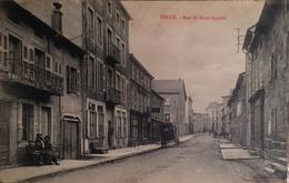 TENCE (HAUTE LOIRE - 43) - RARE CPA ANIMEE ECRITE ET VOYAGEE DE 1922 - Autres Communes