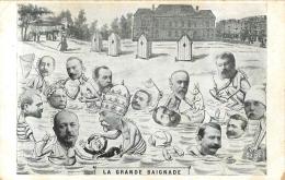 LA GRANDE BAIGNADE POLITIQUE SATIRIQUE - Satiriques