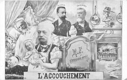 L'ACCOUCHEMENT  POLITIQUE SATIRIQUE - Satiriques