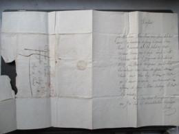 VP BELGIQUE (V1610) COURRIER Concerne CORROY-LE-GRAND Envoyé à BRY 1830 (6 Vues) Oblitération BRUSSEL 3 DEC. + Noté 15? - Historische Dokumente