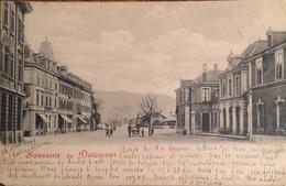 DELEMONT (JURA SUISSE - SCHWEIZ) - CPA ECRITE, VOYAGEE ET TIMBREE DE 1902 - JU Jura