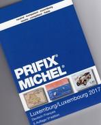 MICHEL/PRIFIX Luxemburg Katalog 2017 Neu 28€ Spezial-Briefmarken: ATM MH Dienst Porto Besetzung Deutsch/französisch - Thématiques