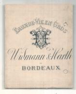 - étiquette 1900/20* - HANAPPIER  Grand Armagnac Reserve  - Négocians à Bordeaux - - Etiquettes