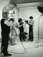 France Photographe JP Rossignol Au Travail En Studio Ancienne Photo 1960
