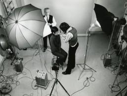 France Photographe JP Rossignol Au Travail En Studio Ancienne Photo 1960 - Photos
