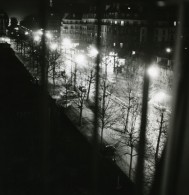 France Paris De Nuit Paris By Night Etude De Lumiere Ancienne Photo 1960' - Photographs