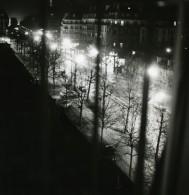 France Paris De Nuit Paris By Night Etude De Lumiere Ancienne Photo 1960'