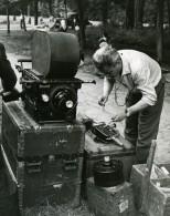 France Photographe Cameraman JP Rossignol Publicite Ancienne Photo 1960'