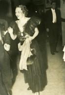 France Paris Dame Elegante A Une Reception Mode Ancienne Photo 1920'