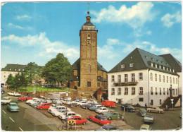 GERMANIA - GERMANY - Deutschland - ALLEMAGNE - 19?? - Missed Stamp - SIEGEN I. W. - Kornmarkt U. Nikolaikirche - Viag... - Siegen