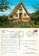 Santana,  Madeira, Portugal Postcard Posted 1990 Stamp - Madeira