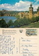 Praha, Czech Republic Postcard Posted 1968 Stamp - Czech Republic