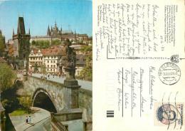 Praha, Czech Republic Postcard Posted 1983 Stamp - Czech Republic