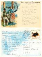 Salutari, Romania Postcard Posted 2006 Stamp - Romania