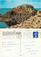Giant's Causeway, Northern Ireland Postcard Posted 1971 Stamp - Irlande Du Nord