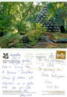 Rowallane Gardens, Northern Ireland Postcard Posted 2011 Stamp - Irlande Du Nord