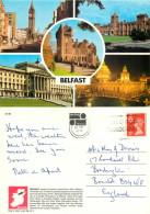 Belfast, Northern Ireland Postcard Posted 1991 Stamp - Irlande Du Nord