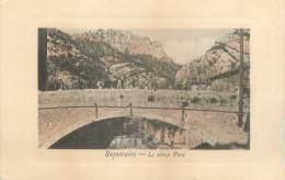 """CPA FRANCE 13 """"Roquevaire, Le Vieux Pont"""" - Roquevaire"""