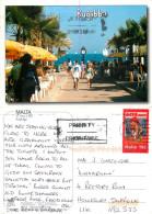 Bugibba, Malta Postcard Posted 2007 Stamp - Malta
