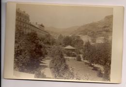 Photographie Photo Royat Puy De Dôme Vue Prise à Royat Photographie Du Grand Monde Léopold Clermont Ferrand - Ancianas (antes De 1900)