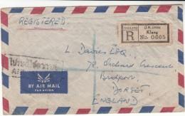Thailand / Airmail / G.B. - Tailandia