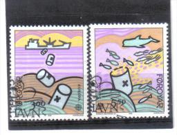 BIN653  FÄRÖER INSELN  1986  Michl 134/35   Used / Gestempelt - Färöer Inseln