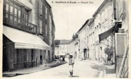 11 SALLELES D'AUDE Grande Rue  Animée - Autres Communes