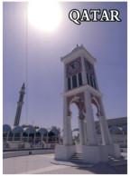 (219) Qatar - Doha Clcok Tower And National Mosque - Qatar