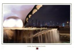 (219) Qatar - Doha Pearl Monument - Qatar
