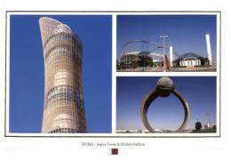 (219) Qatar - Doha Tower And Stadium - Qatar