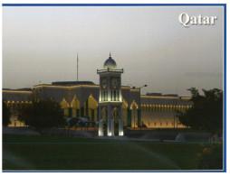 (219) Qatar - Doha Clock Tower And National Mosque - Qatar