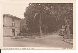 42 - SAINT THURIN - Avenue De La Gare (Café) - Andere Gemeenten