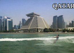 (219) Qatar - Doha Sheraton Hotel & Ski Nautique - Qatar