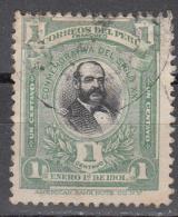 PERU   SCOTT NO  161   USED   YEAR  1901 - Peru