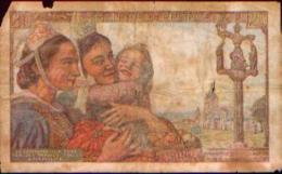 France – 20 Fr – 24=9=1942 - 1871-1952 Anciens Francs Circulés Au XXème