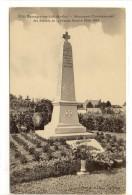 Carte Postale  Ancienne Bazouges Sur Loir - Monument Commémoratif Des Soldats De La Grande Guerre 1914-1918 - France
