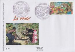 Enveloppe  FDC  1er Jour    MAYOTTE     Le  Voulé   SADA    2007
