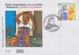 Enveloppe  FDC  1er Jour    MAYOTTE     Habit  Traditionnel    2005 - Mayotte (1892-2011)