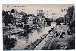 Cpa Metz Quai De L'arsenal 1925 - Metz