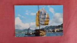 China (Hong Kong) Harbor  Pan American  Adv--ref 2383 - China (Hong Kong)