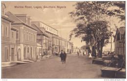 MAR- SOUTHERN  NIGERIA  MARINA ROAD  LAGOS  CPA  RARE - Nigeria