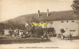 39 Port-Lesney, Hotel Pontarlier, Animation, Vieux Tacot, Cycliste.... - Other Municipalities
