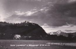 """Ruine """"Landskron"""" Und Mittagskogel In Kärnten (79656) - Ansichtskarten"""