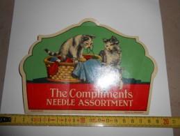 Pochette Aiguilles -The Compliments Needle Assortment - - Buttons