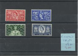 GRAN BRETAÑA YVERT  279/82    MH  * - 1952-.... (Elizabeth II)