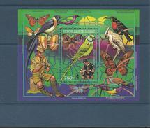 GUINEE - BLOC NEUF** N° 80 - 1988 - PAPILLON & OISEAU / FAUNE & SCOUTISME - VOIR SCAN - Guinee (1958-...)