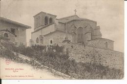 42 - TRELINS Près Boën - Eglise  (années 1900 Environ) - Andere Gemeenten