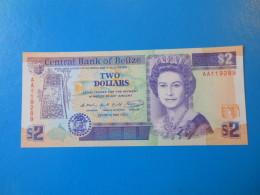 Belize 2 Dollars 1990 P52a UNC - Belize
